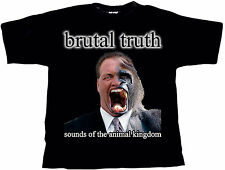 BRUTAL TRUTH Sounds Of The Animal Kingdom T-Shirt L / Large (o353) 161014