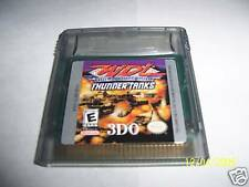 World Destruction League Thunder Tanks (Game Boy Color)