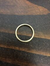 Mario Buccellati Italy Textured 18K Wedding Band Ring Size 6 marked  750 Italy