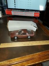 1984 Chevrolet Brown Camaro Dealer Promo Car w/ Box
