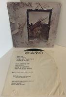 Led Zeppelin IV - Atlantic SD7208 - '71 Release '75 Pressing - Rock Vinyl LP