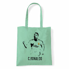 Art T-shirt, Borsa shoulder C Ronaldo, Menta, Shopper, Mare