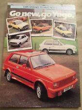 Yugo Cars Brochure - c1984