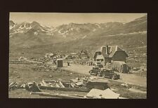ANDORRA Mountain & Cars c1930/40s? printed PPC by V Claverol