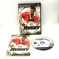 EA Sports Rugby Sony PlayStation 2 PS2 Complete Very Good Resurfaced 2001