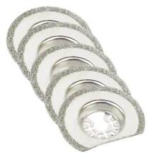 MB5O 63mm Diamond Semi-Round Electroplated Blades 5/Pack Fits Fein Multimaster