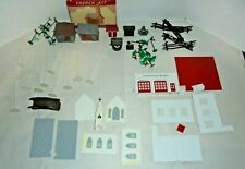 BACHMANN PLASTICVILLE HOUSES,STATIONS,SIGNS,LAMP POSTS & MORE O&S SCALE BIG LOT