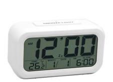 Digital Snooze LCD Alarm Clock Backlight Time Calendar Thermometer Temperature