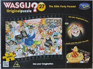 "Wasgij Original Puzzle ""No.27"" Jigsaw 1000 Piece ""The 20th Party Parade"""
