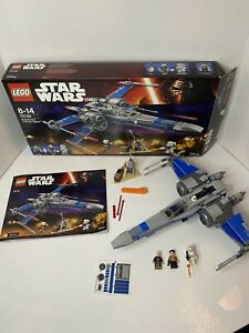 LEGO Star Wars Resistance X-Wing Fighter 75149 99% Boxed