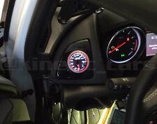 Vauxhall Astra J ventilación de aire Calibre Pod Adaptador Brillante Negro Abs Mano Izquierda Disco