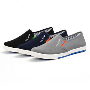 New Mens Casual Driving Loafers Slip On Breathable Low Heel Leisure Flat Shoes