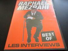 """DVD """"RAPHAEL MEZRAHI - BEST OF LES INTERVIEWS"""" Chantal GOYA, Bernard MENEZ, Jack"""