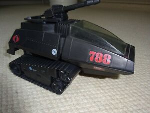 GI JOE COBRA HISS TANK RED 788 STICKER HASBRO 1983