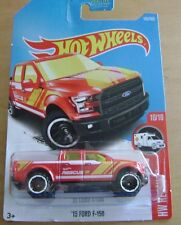 HOT WHEELS 2017 RED '15 FORD F-150/HW RESCUE #10/10 ON CARD#185/365