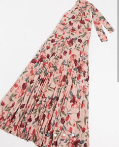 FOREVER U HIGH NECK MAXI DRESS IN FLORAL BNWT SIZE 6