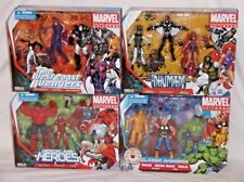 MARVEL UNIVERSE Multi-Pack Lot 4 CLASSIC AVENGERS WEST COAST INHUMANS Figure Set