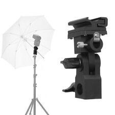 B Type Hot shoe Flash Flashgun Speedlite Bracket Umbrella Holder Light Stand