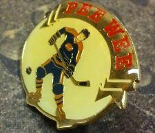Pee Wee hockey pin badge