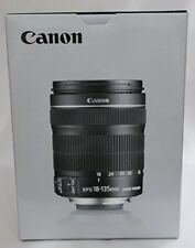 Canon standard zoom lens EF-S18-135mm F-3.5-6. IS STM APS-C from japan