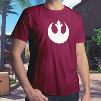 Star Wars Rebel Alliance Galactic Republic Jedi Men Unisex Tee Crew Neck T-Shirt
