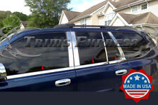 2002-2009 GMC Envoy 6Pc Chrome Window Sill Trim Stainless Steel Overlay Cover
