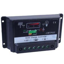 5A Panneau solaire batterie régulateur charger contrôleur 12V/24V Auto GA