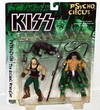 KISS Band PETER CRISS FUR CAPE VARIANT Psycho Circus McFarlane Action Figure '98