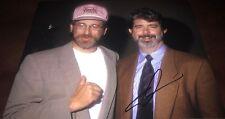 George Lucas Legendary Director Signed 11x14 Autographed Photo COA Proof