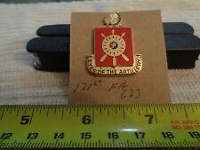 171st Field Artillery G23 Unit Crest, DI, DUI (DRAW#58)