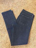Women's VGUC J CREW Sz 30 Black Toothpick Skinny Stretch Jeans