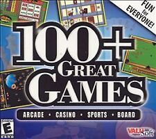 100+ Great Games: Millennium Edition (Windows PC CD-Rom)