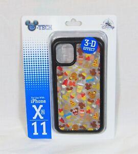 Disney Snacks & Treats 3-D Effect Apple Iphone XR & 11 Cellphone Case NEW CUTE