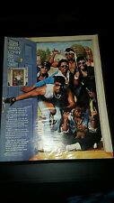Full Force Guess Who's Comin' To The Crib Rare Original Promo Poster Ad Framed!