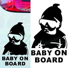 Adesivo sticker Baby on Board bambino bimbo a bordo decalcomania auto tuning BK