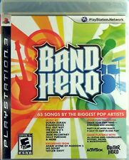 Band Hero  Sony Playstation 3  PS3 New And Factory Sealed   Free USA Shipping