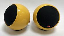 Anthony Gallo Micro Loudspeaker (PAIR) - Rare Glossy Yellow Finish