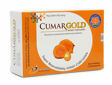 CumarGOLD, NANO CURCUMIN 01 Box of 30 capsules, Herbal Supplements, Free Ship