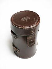 E. Leitz New York Vintage Leather Case for Rangefinder Lens, Leica