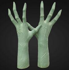 """Deluxe """"verde alieno mani di lattice-INDOSSABILE-qualità impressionanti"""