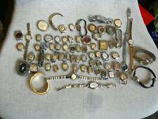 Lot van 70 horloges Vr Reparatie/onderdelen, lot de montres pr pièces reparation