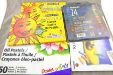 Soft & Oil Pastel Lot Cray-Pas, Pentel, Mungyo, Alphacolor