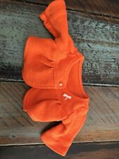 American Girl Doll Lanie Dragonfly Outfit Orange Cardigan  ONLY Retired