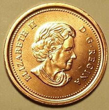 2003 New Effigy Zinc CANADA 1 Cent Uncirculated Non-Magnetic Penny UNC