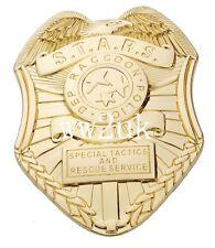 RESIDENT EVIL BIOHAZARD S.T.A.R.S. STARS RACCOON POLICE DEP BADGEGOLDEN - 38058