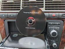 2020 Audi RNS-E S3 A4 A3 Navegación Plus SAT NAV disco DVD GPS de firmware Reino Unido final
