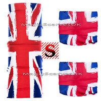 Biker Balaclava Neck Warmer Tube Snood Scarf Face Mask Skull Jack Brexit UK Flag