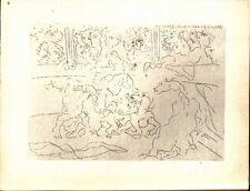 PABLO PICASSO - SUITE VOLLARD - Ed. Hatje 1956.