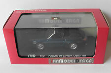 PORSCHE 911 996 CARRERA CABRIOLET 1998 DARK BLUE SMD HIGHSPEED HF9153S 1/43