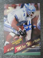 Mike Morton #42 Superior Pix American Football Trading Card (L1T)